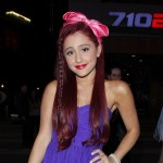 Victorious Actress Ariana Grande At A Katy Perry Concert