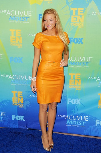 Blake Lively At The 2011 Teen Choice Awards