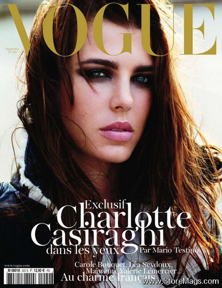 Charlotte Casiraghi Covers Vogue Paris