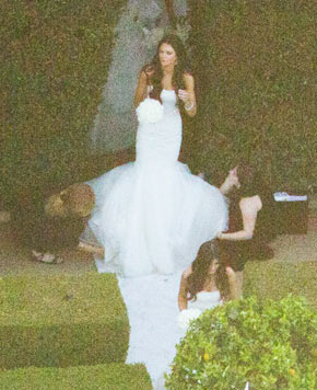 Kendall Jenner Claims She Did Not Upstage Kim Kardashian's Wedding Dress