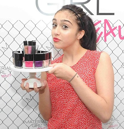 Madonna's Daughter Lourdes Launches A Makeup Line