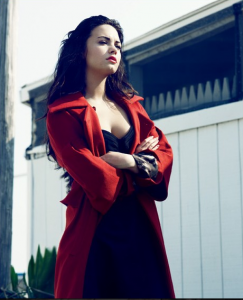 Demi Lovato Talks with Elle Magazine