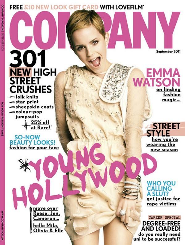 Emma Watson Covers Company Magazine
