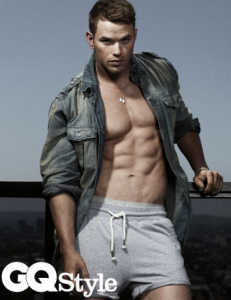 Kellan Lutz on Cover of GQ