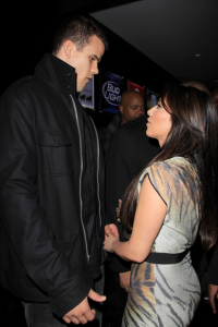 Kris Humphries and Ray J Together on Plane