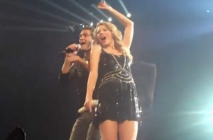 Andy Grammer Guest Appearence with Taylor Swift