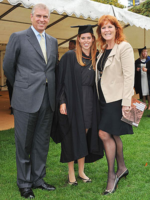 Princess Beatrice Poses In Her Graduation Gown