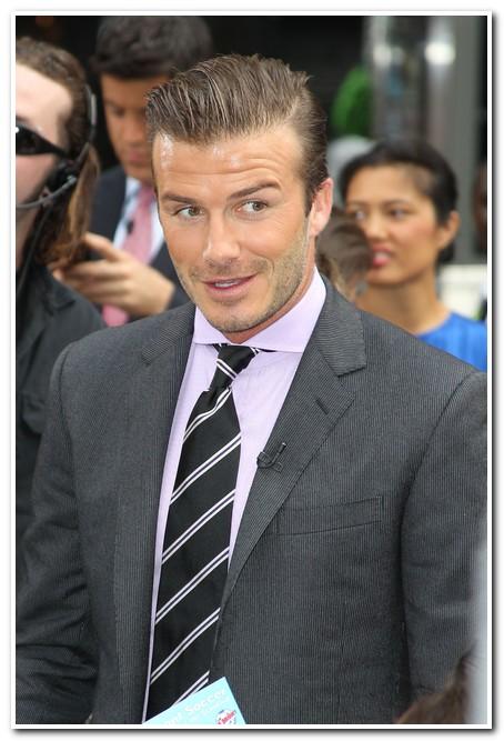 David Beckham Gets His Sons Advice!
