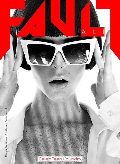 Ali Lohan's First Magazine Cover Is For Fault Magazine 2011 (Photos)