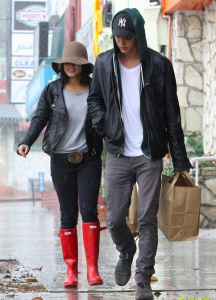 Vanessa Hudgens Spotted with Beau