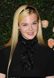 Elle Fanning at Chanel Event