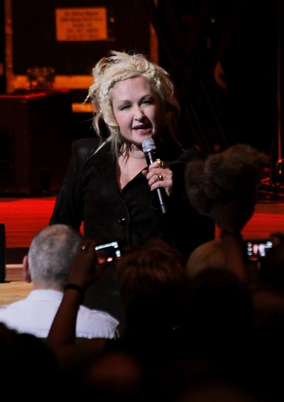Cyndi Lauper Says Parents Must Accept Gay Children
