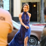 AnnaLynne McCord Turns Heads on the Set of '90210'