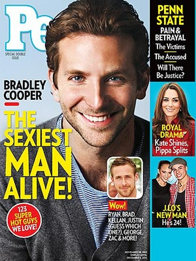Bradley Cooper Named People's Sexiest Man Alive! (Photo)