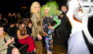Ke$ha and Nicki Minaj at H&M Event