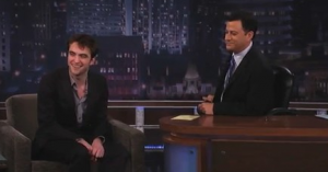 Robert Pattinson on Jimmy Kimmel Live