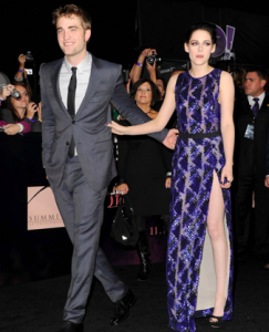 Kristen Stewart and Robert Pattinson Breaking Dawn Premiere