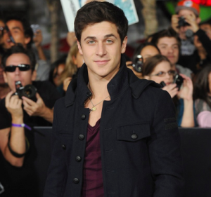David Henrie at Breaking Dawn Premiere