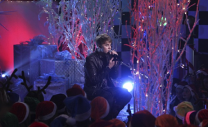 Justin Bieber on Holiday Special of 'So Random!'
