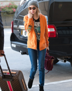 Emma Roberts Arrives at LAX