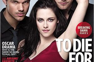 Kristen Stewart, Robert Pattinson, Taylor Lautner Cover Entertainment Weekly 11/25/11 Issue
