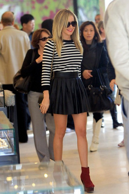 Ashley Tisdale Shopping With her Mother at Chanel & Other News
