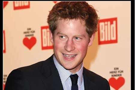 Prince Harry Goes To Winter Wonderland
