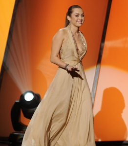 Miley Cyrus at American Giving Awards