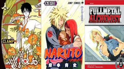 New York Times Top 3 Selling Manga from December 18 – 24