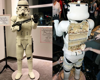 A Life-Size Stormtrooper Cake for Sci-fi Convention