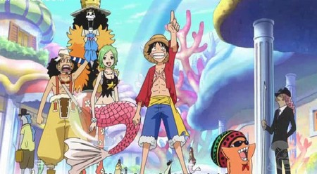 Anime Review One Piece Episode 530 Fishman Islands King