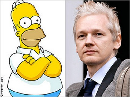 WikiLeaks' Julian Assange to guest on 'The Simpsons'