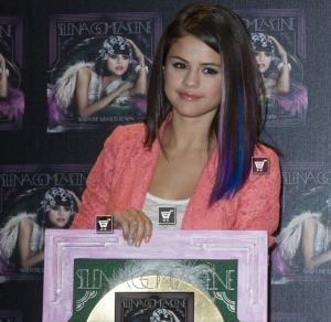 Selena Gomez Album Goes Gold