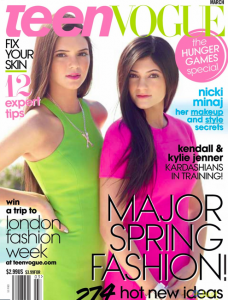 Kendall and Kylie Jenner Cover 'Teen Vogue'