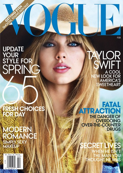 Taylor Swift Talks Her Next Album With Vogue Magazine (Cover)