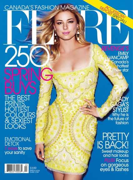 Revenge's Emily VanCamp Covers Flare Canada & Other News