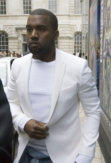 Kanye West Finds Fashion Inspiration In 'Jack The Ripper'