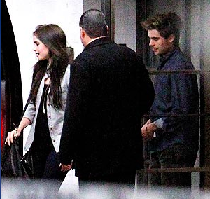 Zac Efron and Lily Collins on Valentine's Day Date