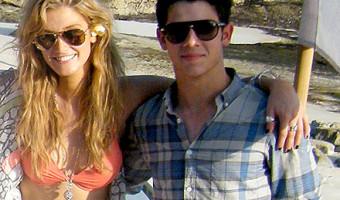 Nick Jonas and Delta Goodrem Split