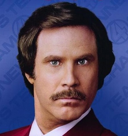 Ron Burgundy is Back!