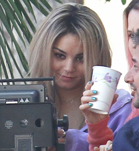 Vanessa Hudgens Goes Blond