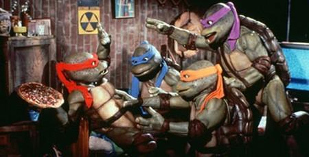 The Teenage Mutant Ninja Turtles Become Aliens
