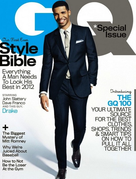 Drake Covers GQ April 2012 (Photo)
