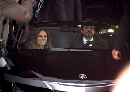 "Robert Downey Jr. Drove A $9 Million Car to The premiere Of ""Marvel's The Avengers"" (Photo)"