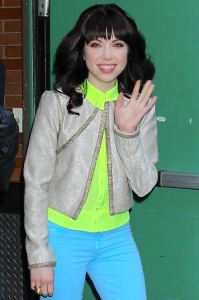 Carly Rae Jepsen on 'Good Morning America'