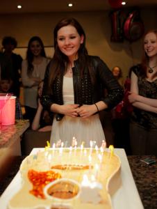 Abigail Breslin Celebrates Sweet 16