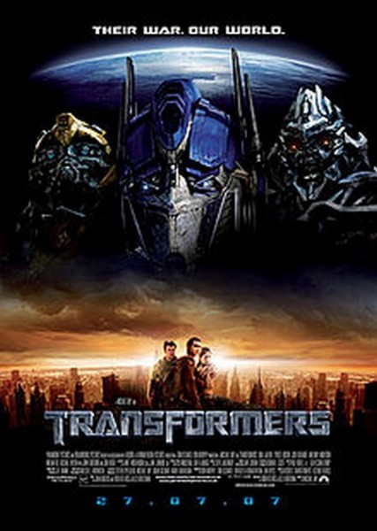 Transformers Ride Being Made in 3D