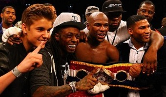 Justin Bieber Gets 'In The Ring'