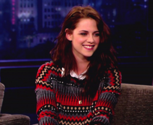 Kristen Stewart on Jimmy Kimmel Live
