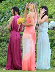 Kendall and Kylie Bridesmaids in Hawaii